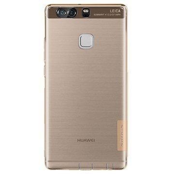 Huawei P9 Plus Nillkin Nature TPU Suojakuori Ruskea