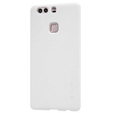 Huawei P9 Plus Nillkin Super Frosted Suojakotelo Valkoinen