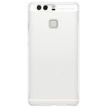 Huawei P9 Puro 0.3 Ultra Slim Nude Silikonikotelo Läpinäkyvä