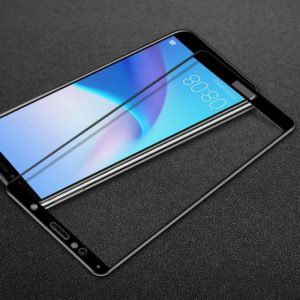 Huawei Y6 2018 / Honor 7a Panssarilasi 2.5d Full Cover Musta