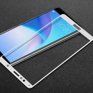 Huawei Y6 2018 / Honor 7a Panssarilasi 2.5d Full Cover Valkoinen