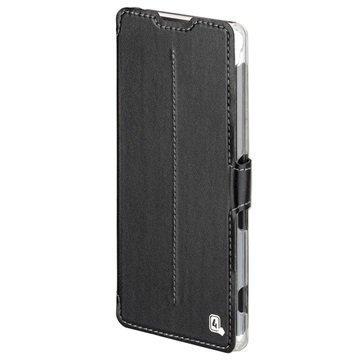 Huawei Y6II Honor 5A 4smarts Supremo Book Läppäkotelo Musta