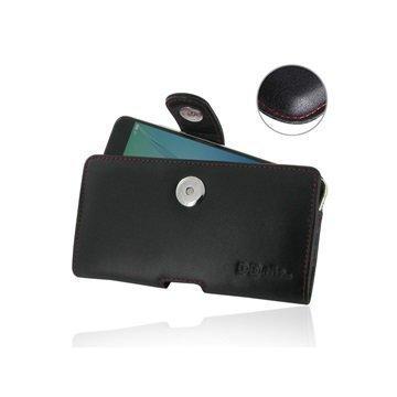 Huawei nova PDair Vaakasuuntainen Nahkakotelo Musta