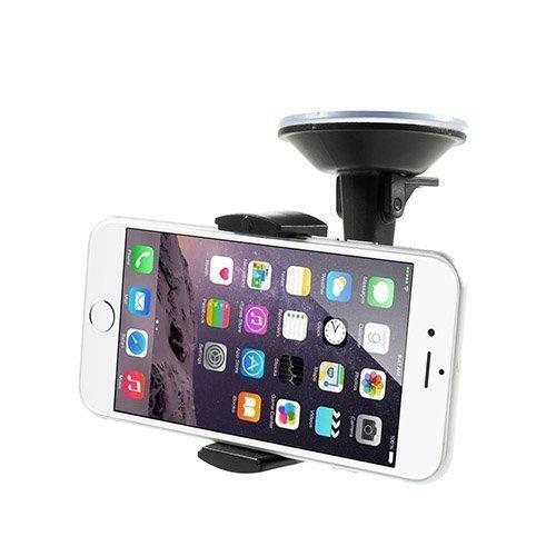 Hx-M-X3 360 Astetta Pyörivä Autoteline Imukupilla Älypuhelimille