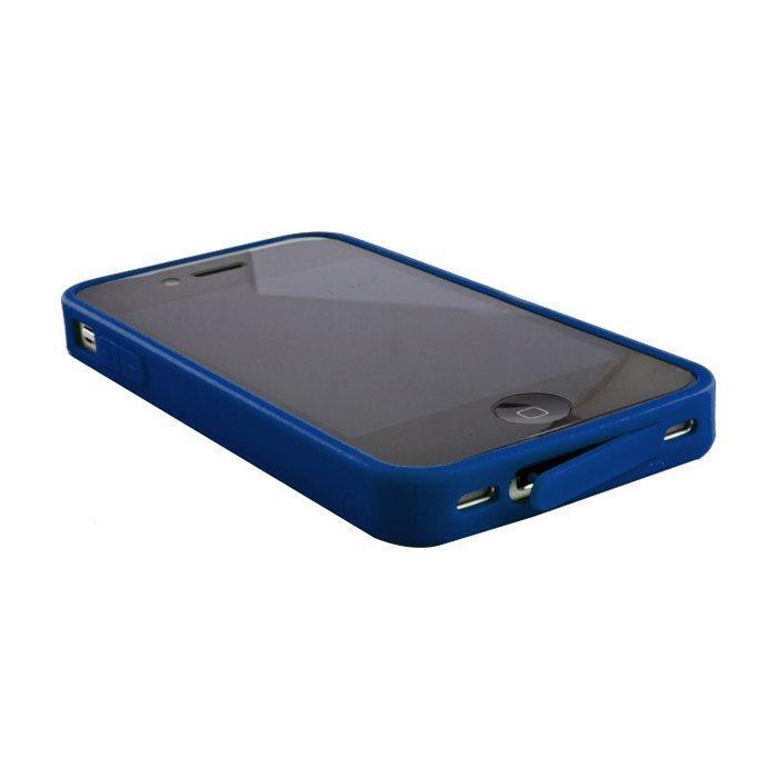 Hybrid Case for iPhone 4 ja 4S suojakotelo Tummansininen
