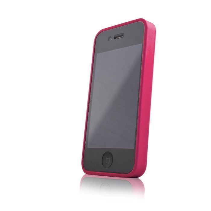Hybrid Case for iPhone 4 ja 4S suojakotelo pinkki