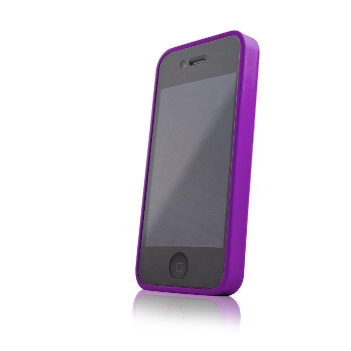 Hybrid Case for iPhone 4 ja 4S suojakotelo purppura