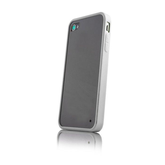Hybrid Case for iPhone 4 ja 4S suojakotelo valkoinen
