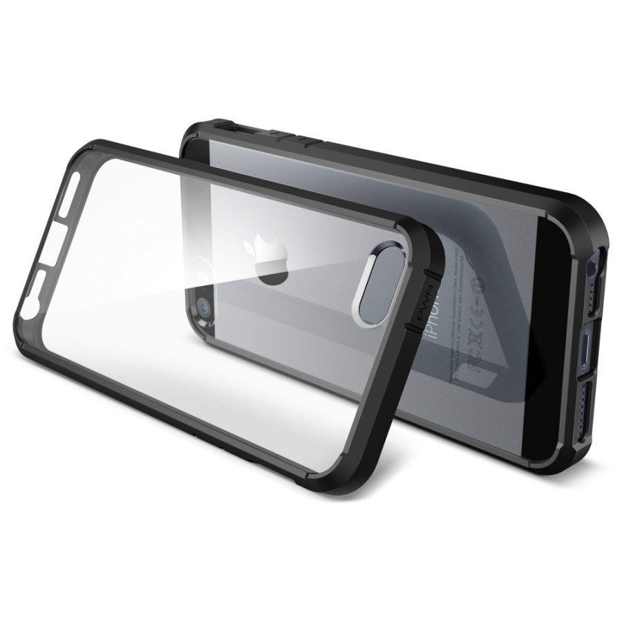 Hybrid Case iPhone 5/5s suojakotelo musta