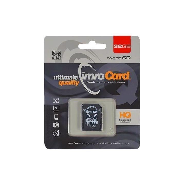 IMRO microSDHC Muistikortti 32 Gt Class 10 Samsung muistipiirillä
