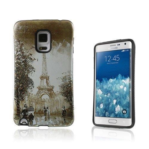 Iface Samsung Galaxy Note Edge N915 Kuori Vanhanaikainen Eiffel Torni