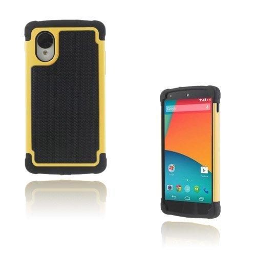 Impact Keltainen Google Nexus 5 Turvakuori