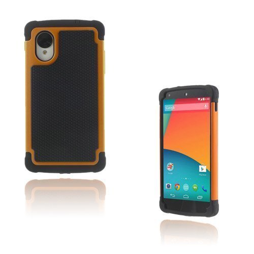Impact Oranssi Google Nexus 5 Turvakuori