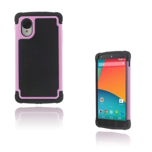Impact Pinkki Google Nexus 5 Turvakuori