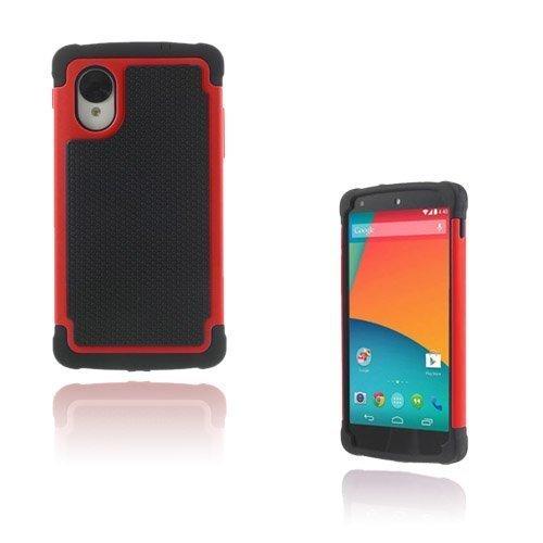 Impact Punainen Google Nexus 5 Turvakuori