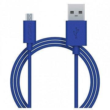 Incipio USB 2.0 / Micro USB Lataus & Synkronointikaapeli Sininen