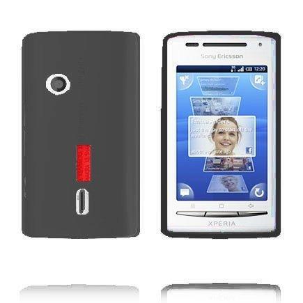 Incover Harmaa Sony Ericsson Xperia X8 Silikonikuori