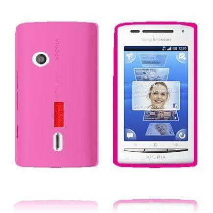 Incover Pinkki Sony Ericsson Xperia X8 Suojakuori