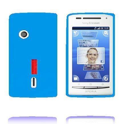Incover Sininen Sony Ericsson Xperia X8 Silikonikuori