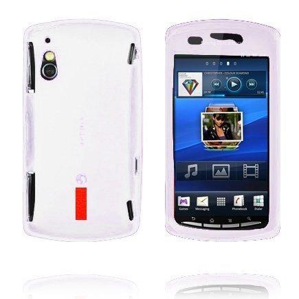 Incover Valkoinen Sony Ericsson Xperia Play Silikonikuori