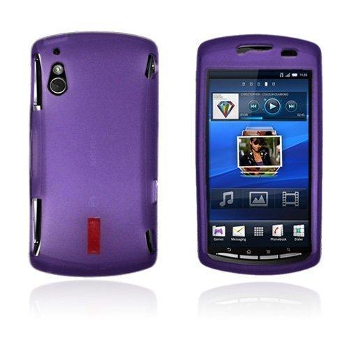 Incover Violetti Sony Ericsson Xperia Play Suojakuori