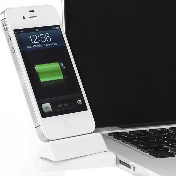 Innovazione USB-telakka iPhonelle/iPodille telakkaliitos