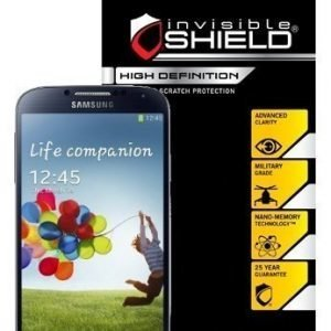 InvisibleSHIELD HD Samsung Galaxy S4 Screen