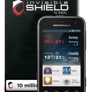 InvisibleSHIELD Motorola DEFY MINI Screen