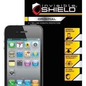 InvisibleSHIELD iPhone 4 & 4S Screen Smudge Proof
