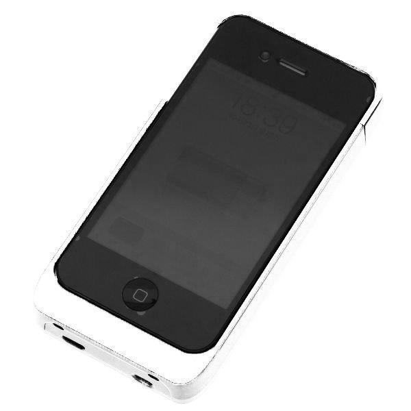 Iphone 4 Akkukotelo Valkoinen