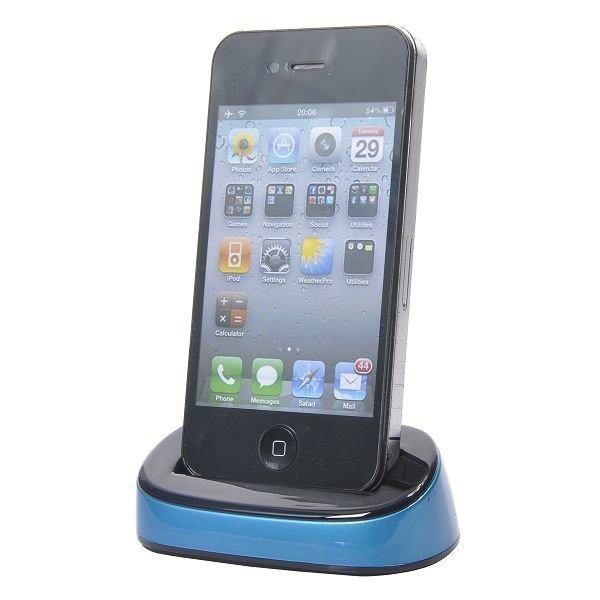 Iphone 4 Lataustelakka Sininen