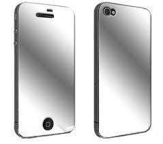 Iphone 4 Näytön Suojakalvo Peili 3 Kpl