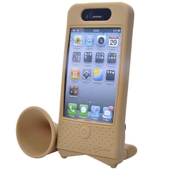 Iphone 4 Torvi Suojakotelo Pyöräteline Ruskea