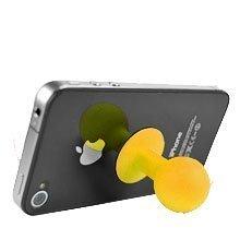Iphone Imukuppi Standi Keltainen
