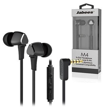 Jabees M4 In-Ear Stereokuulokemikrofoni Harmaa