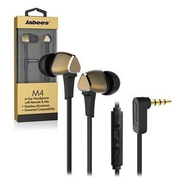 Jabees M4 In-Ear Stereokuulokemikrofoni Kulta
