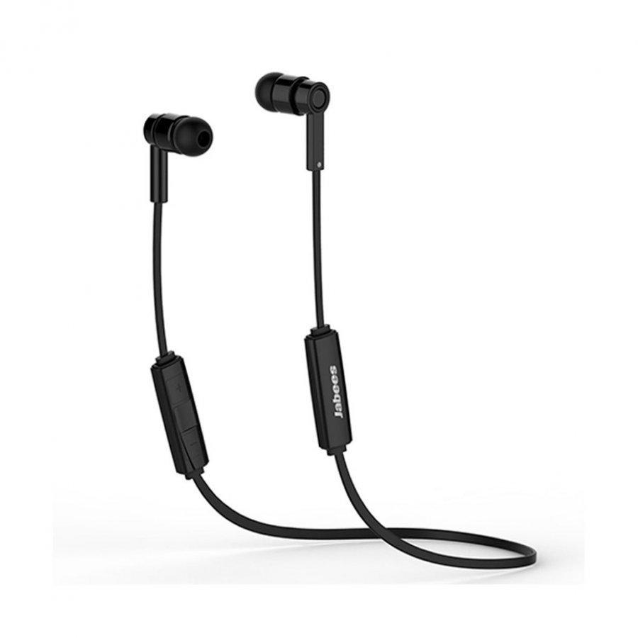 Jabees Obees Bluetooth 4.1 Kuulokkeet Mikrofonilla & Kaukosäätimellä Musta
