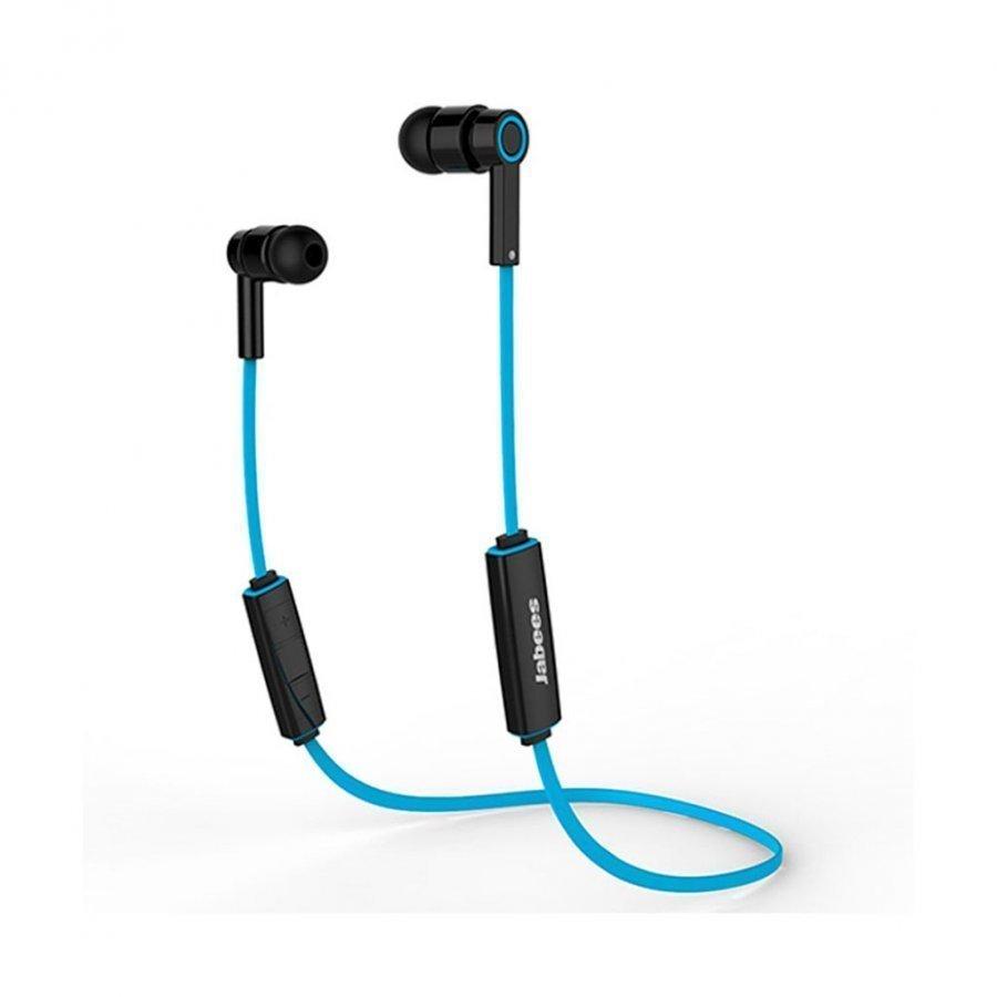 Jabees Obees Bluetooth 4.1 Kuulokkeet Mikrofonilla & Kaukosäätimellä Sininen