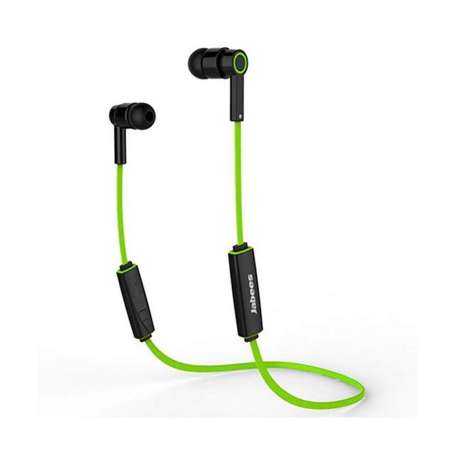Jabees Obees Bluetooth 4.1 Kuulokkeet Mikrofonilla & Kaukosäätimellä Vihreä