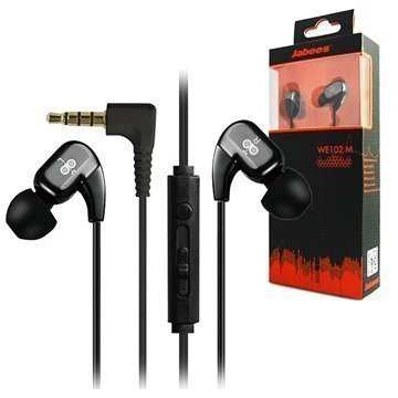 Jabees WE102M In-Ear Stereokuulokkeet Musta
