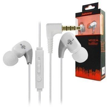 Jabees WE102M In-Ear Stereokuulokkeet Valkoinen