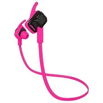 Jabees beatING Bluetooth Headset Hot Pink