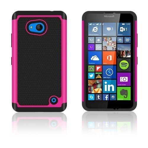Jalkapallo Kuvioinen Microsoft Lumia 640 Kuori Kuuma Pinkki
