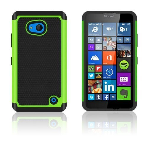 Jalkapallo Kuvioinen Microsoft Lumia 640 Kuori Vihreä