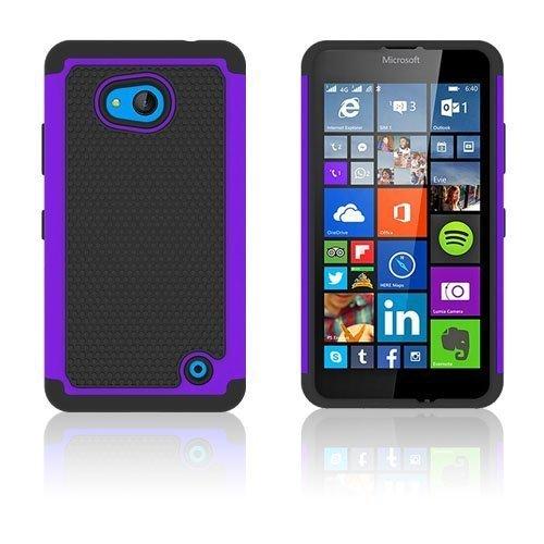 Jalkapallo Kuvioinen Microsoft Lumia 640 Kuori Violetti