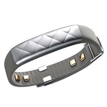 Jawbone UP3 Aktiivisuusranneke Hopea