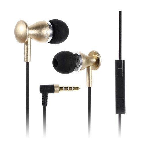 Jbm Mj9600 Kulta Metalliset Kuulokkeet Mikrofonilla