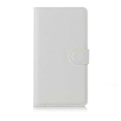 Jensen Microsoft Lumia 950 Xl Nahkakotelo Standillä Valkoinen