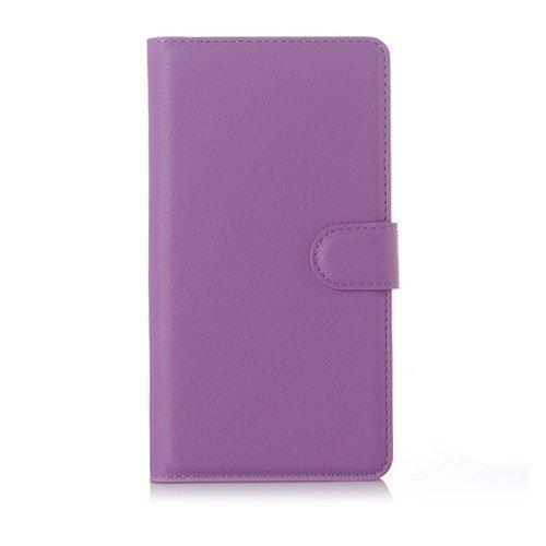 Jensen Microsoft Lumia 950 Xl Nahkakotelo Standillä Violetti