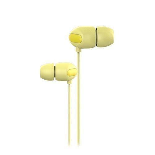Joyroom Jr-E111 Korvanappikuulokkeet Mikrofonilla Keltainen